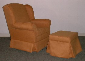 Wingback Glider - Dutailier 166103-4046m