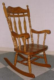 Lumberjack Rocking Chair