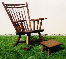 Fireside Rocker - Barbary finish